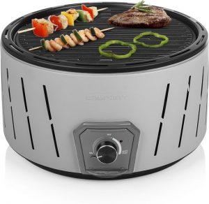 Kolenbarbecue voor reizen