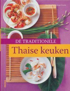kookboek met traditionele recepten uit de thaise keuken